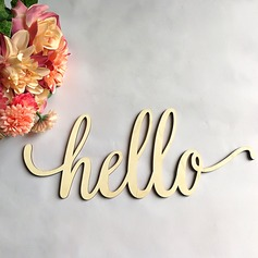 Classic Lovely/Letter Wooden Wedding Sign