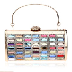 Elegant Crystal/ Rhinestone Clutches/Satchel (012143566)