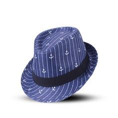 Men's Hottest Cotton Fedora Hats/Kentucky Derby Hats