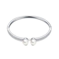 Kaunis Pearl/Kupari/Zirkoni/Platinoidut Sonar Naisten Rannerenkaita