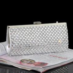 Moda Cristal / Diamante/Rhinestone Bolso Claqué/Bolsos de Moda