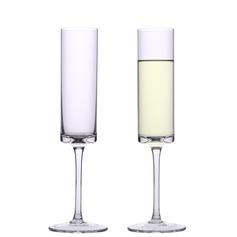 Elegant Skåle Glass Sett (Sett Av 2)