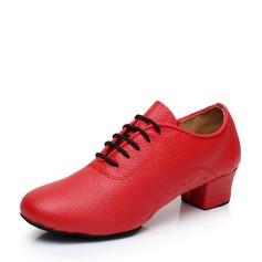 Femmes Vrai cuir Latin avec Dentelle Chaussures de danse