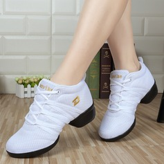 Women's Mesh Sneakers Sneakers Practice Dance Shoes