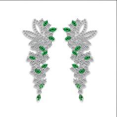 Klassisk stil Zirkon Damer' örhängen