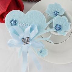 Сердце Свадьба Фигурки для торта (набор из 4)