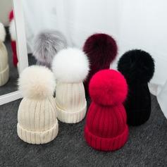 Senhoras Lovely/Moda/Clássico Mistura de lã Gorro / desleixada
