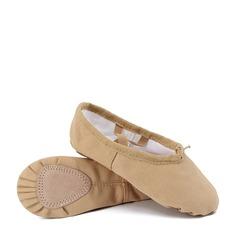 Femmes Toile Chaussures plates Ballet Chaussures de danse