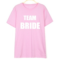 Bridesmaid Gifts - Fashion Cotton T-Shirt (256171026)