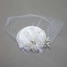 Ladies' Glamourous Net Yarn Fascinators/Tea Party Hats