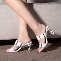 Donna Similpelle Tacco a spillo Sandalo Stiletto Punta aperta Con cinturino con Strass scarpe