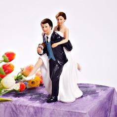 Sporten Paar Hars Huwelijk Taarttoppers