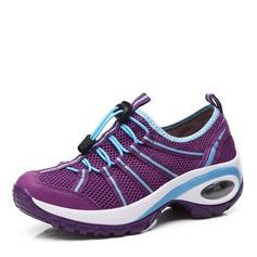 Vrouwen leer maas met Vastrijgen Sneakers & Sportschoenen