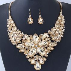 Unik Legering Resin Kvinnor Smycken Sets (Säljs i ett enda stycke)