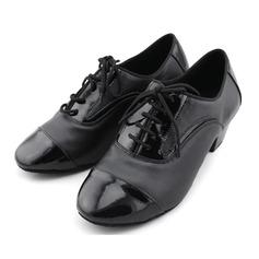 Hommes Vrai cuir Talons Escarpins Latin Salle de bal Chaussures de Caractère Chaussures de danse