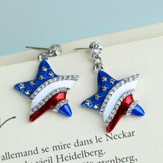 Nice Rhinestones Zircon Ladies' Fashion Earrings