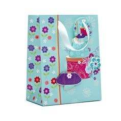 Classic Cuboid Favor Bags With Ribbons