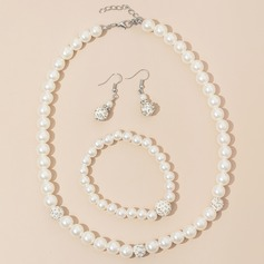 Elegant Alloy/Rhinestones/Imitation Pearls Ladies' Jewelry Sets