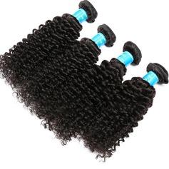 4A Nicht remy Kinky Curly Menschliches Haar Geflecht aus Menschenhaar (Einzelstück verkauft) 50g