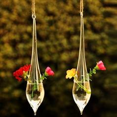 Pendurar Forma gota de água Vidro Vaso
