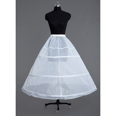 Women Tulle Netting Floor-length 1 Tiers Petticoats