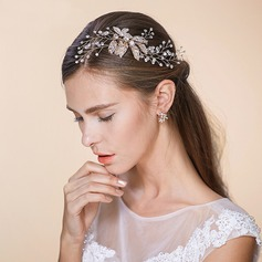 Ladies Special Alloy/Imitation Pearls Headbands With Venetian Pearl