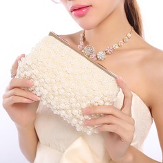 Pretty Imitation Pearl/Beading Clutches