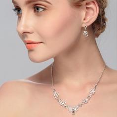 Charme Liga com Strass Mulheres/Senhoras Conjuntos de jóias