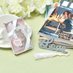 """""""Love Story"""" Stainless Steel Bookmarks"""