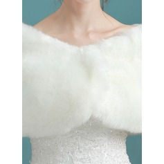 Faux Fur Huwelijk Wrap (013187933)