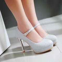 Femmes Pailletes scintillantes Talon stiletto Escarpins Plateforme chaussures