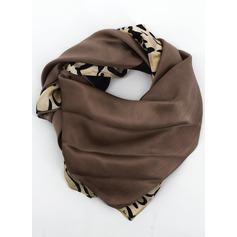 Leopard Nakke/Kvadrat 100% Mulberry silke Square skjerf