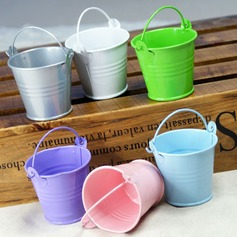 Lovely Sylinteri Metalli Favor Tins & Pails (Sarja 12)