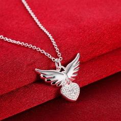 Nice Zircon Copper Ladies' Fashion Necklace