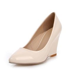 De mujer Piel brillante Tipo de tacón Cuñas con Otros zapatos