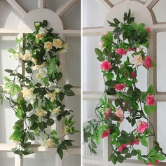 Artificial Flowers DIY Door Lintel Mirror Flower For Wedding Home Decoration