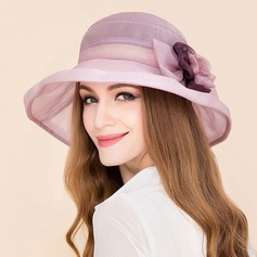 Damene ' Klassisk stil Silke med Rhinestone Diskett Hatt/Kentucky Derby Hatter/Tea Party Hats