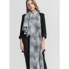 Leopard Poids léger/Énorme/mode Polyester Écharpe