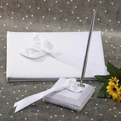 Calla Lily Ribbons Guestbook/Pen Set