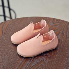 Unisex Leatherette Flat Heel Closed Toe Flats