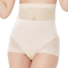 Damen Elegant/Anhänger Chinlon/Nylon Atmungsaktivität/Gesäß anheben Hohe Taille Slipformer Formwäsche