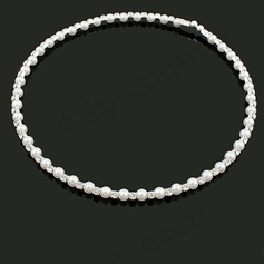 Nice Pearl With Rhinestone Women's Necklaces