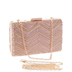 Shining Polyester Clutches