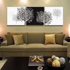 Attraktiv Träd mallen Duk Oljemålning