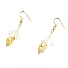 Shining Alloy Imitation Pearls Women's Fashion Earrings