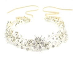 Ladies Elegant Rhinestone/Alloy Headbands With Rhinestone (Sold in single piece)