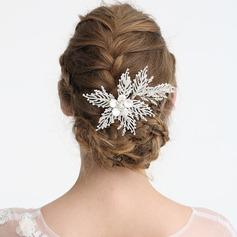 Damen Einzigartig Strass/Legierung/Faux-Perlen Kämme und Haarspangen mit Strass/Venezianischen Perle (In Einem Stück Verkauft)