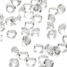 """1/4""""(0.6cm) Lyse Diamant Stykker (taske af 1000)"""
