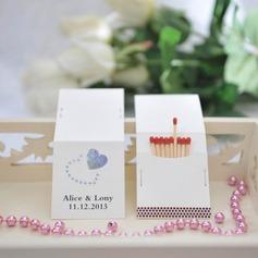 Personalizado Projeto do coração papel cartão duro Caixas de Fósforos Personalizadas
