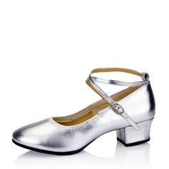 Kvinnor Äkta läder Övning Dansskor